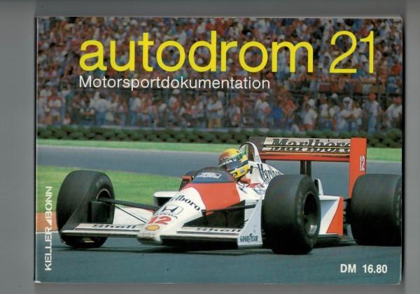 autodrom 21 - Motorsportdokumentation Ausgabe 1989
