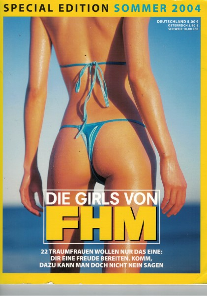 FHM - For Him Magazine - Special Edition Sommer 2004