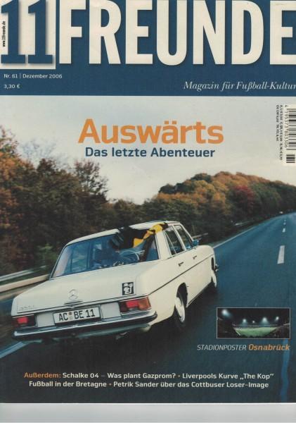 11 Freunde - Heft Nr. 061 - 12 Dezember 2006