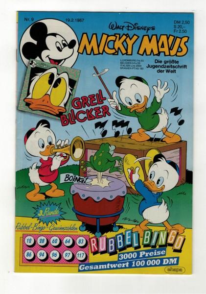 Micky Maus 1987 Nr. 09 / 19.02.1987