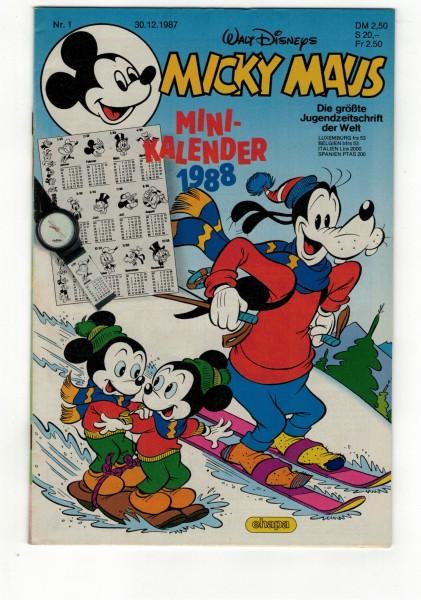 Micky Maus 1988 Nr. 01 / 30.12.1987