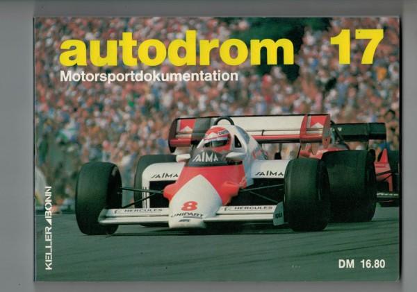 autodrom 17 - Motorsportdokumentation Ausgabe 1985
