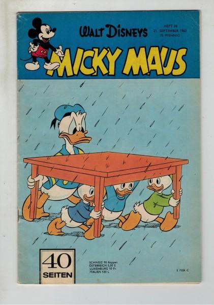 Micky Maus 1963 Nr. 38 / 21.09.1963