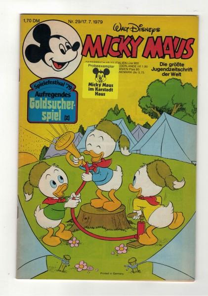 Micky Maus 1979 Nr. 29 / 17.07.1979