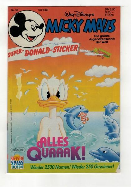 Micky Maus 1989 Nr. 32 / 03.08.1989