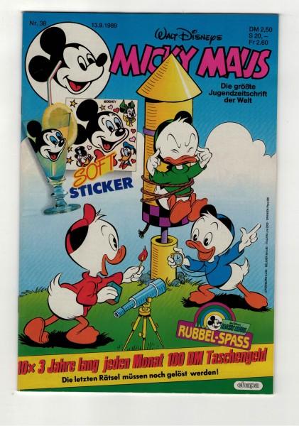 Micky Maus 1989 Nr. 38 / 13.09.1989