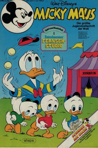 Micky Maus 1983 Nr. 20 / 17.05.1983