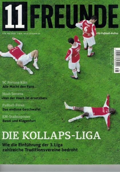 11 Freunde - Heft Nr. 078 - 05 Mai 2008