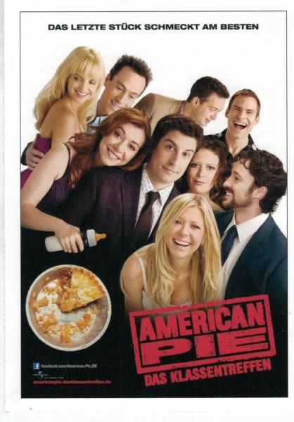 """Cinema Filmkarte """"American Pie - Das Klassentreffen"""""""