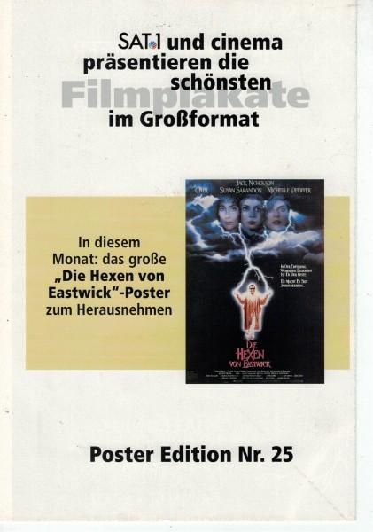 Cinema Poster Edition Nr. 25 - Die Hexen von Eastwick
