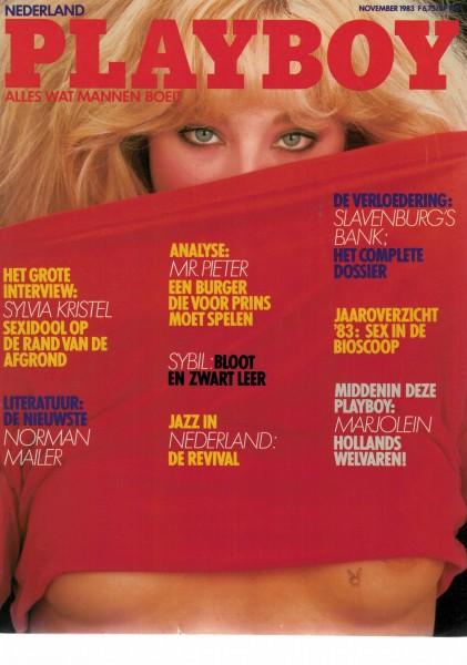 Playboy Niederlande 1983-11 November